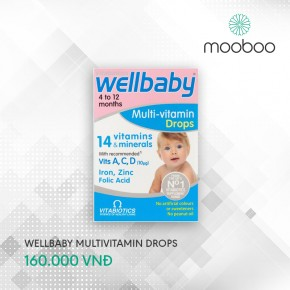 Wellbaby multi vitamins drops