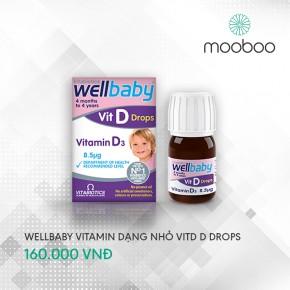 Wellbaby Vit D Drops