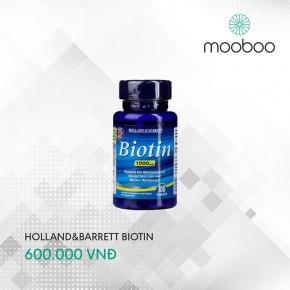 Holland & Barrett Biotin 100viên