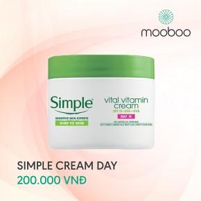 Kem dưỡng da ban ngày Simple day cream