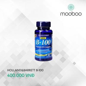 Holland & Barrett Vitamin B100 50viên