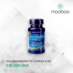 HOLLAND & BARRETT VITAMIN B-COMPLEX AND B12