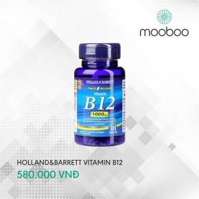 Holland & Barrett Time Release B12 100 viên
