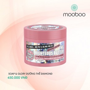 Kem dưỡng thể Soap & Glory The Righteous Butter Diamond Edition
