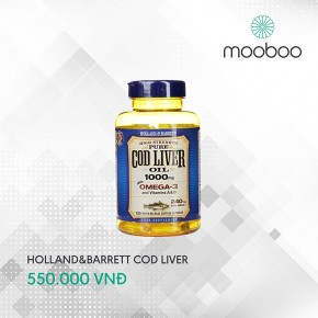 Holland & Barrett Cod Liver Oil 120 viên